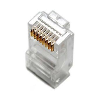 Shintaro RJ45 Cat5E-connectors (box 50pcs)