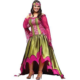 Flower Fairy Adult Plus Size Costume