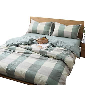 YANGFAN Cotton Soft Bedding 4Pcs Set 7 Colors