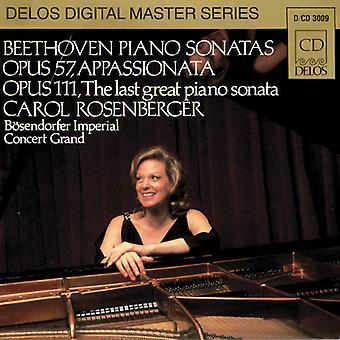 L.V. Beethoven - Beethoven: Piano Sonatas Op. 57 Appassionata, Op. 111 the Last Great Piano Sonata [CD] USA import