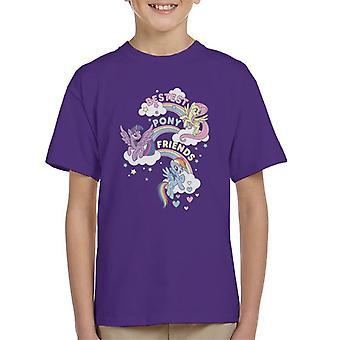 My Little Pony Bestest Pony Friends Kid's T-Shirt