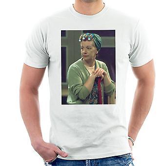TV ganger Hilda Ogden spilt av Jean Alexander Coronation Street 1975 menn t-skjorte