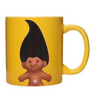 Trolls Heat Changing Mug Trolls nouveau officiel jaune en boîte