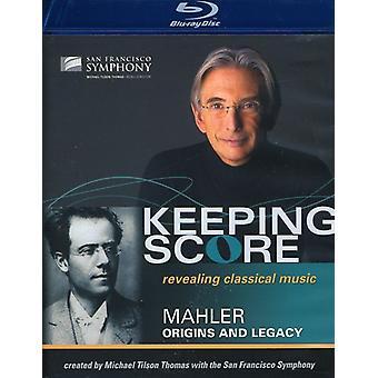 G. Mahler - Keeping Score-Origins & Legacy [Blu-ray] USA import