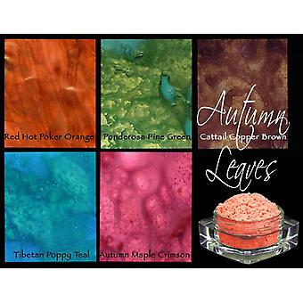 Lindy's Stamp Gang Autumn Leaves Magical Set