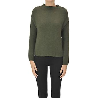 Aragona Ezgl157037 Donne's Maglione in cashmere verde