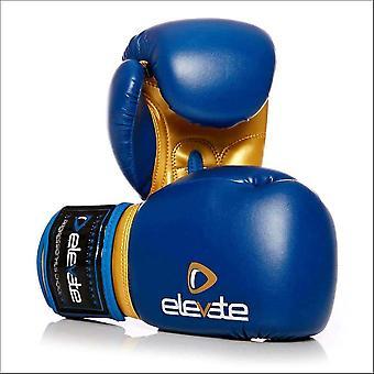 Höj PU Kids boxningshandskar-blå guld