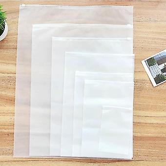Transparent Foldable Dust Cover Cloth Bags - Wardrobe Storage / Organizer
