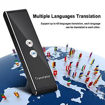 Portable Smart Voice-translator 40-language-translation Two-way Real Time Translate For Travel