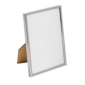 Nicola Spring Metal 5x7 marco de fotos. Color de plata - De pie