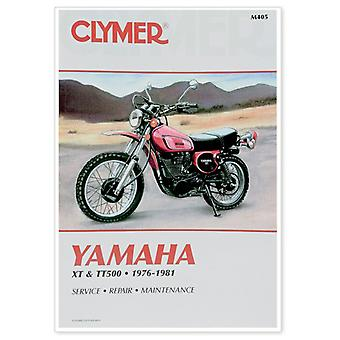 Clymer M405 Manual for Yamaha XT & TT Singles 76-81