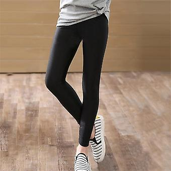 Skinny Long Pants Bottoms Leggings Elastic Trousers For Girls