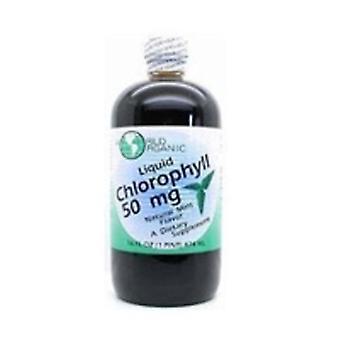 World Organics Chlorophyll, 50 mg, w/Peppermint Liquid 16 FL Oz