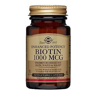 Solgar Biotin 1000 mcg, 50 V Caps