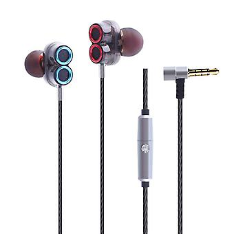 Caldecott KDK-503 Sweatproof Noise Cancelling Wired Earphone With Mic
