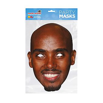 Mask-arade Mo Farah Celebrities Party Face Mask