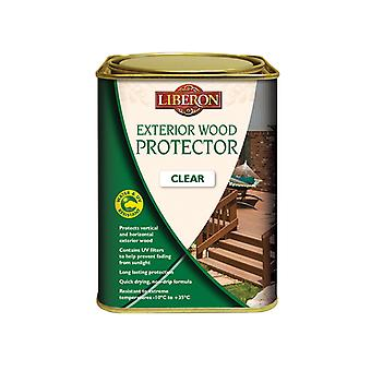 Liberon Exterior Wood Protector Clear 1 Litre LIBEWPC1L