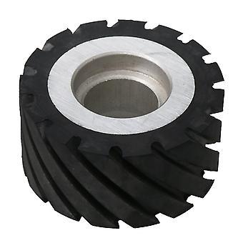 aluminium belte kvern gummi hjul 6204 kulelager taggete hjul 10 x 5cm