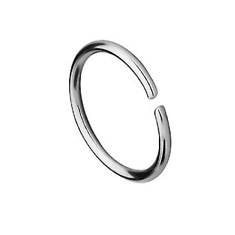 IP זהב או טבעת האף פלדה כירורגית או חישוק סחוס עם קצוות עגולים נוחות