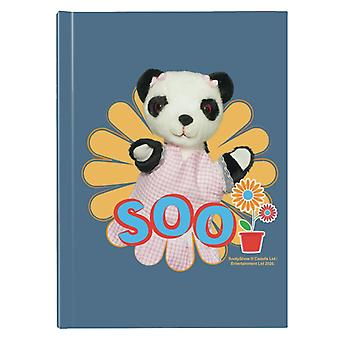 Sooty Soo Flower Hardback Journal