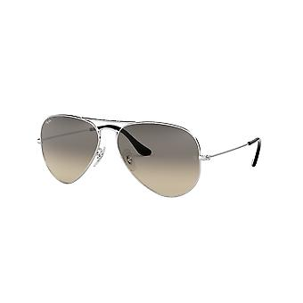 Ray-Ban Aviator RB3025 003/32 SILVER/CRYSTAL Grey Gradient Sonnenbrille