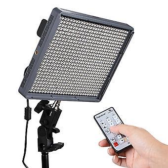 Aputure Amaran HR672C High CRI 95+ Studio Video Light LED Foto lys Justerbar farvetemperatur lys med 2,4 GHz trådløs fjernbetjening, flimmer gratis (Bla