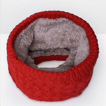 Winter Scarf Warm Scarf Thickened Wool Collar Scarves Neck Scarf Cotton Unisex