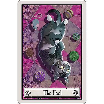 Deadly Tarot The Fool Felis Plaque