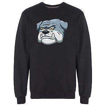 Big Bulldog Face Sweatshirt Men's -Bild von Shutterstock