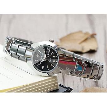 Luxury Watch, Stainless Steel Quartz Waterproof Wristwatches
