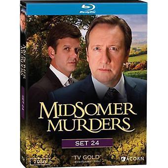 Midsomer Murders sat 24 [BLU-RAY] USA importerer