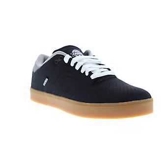 Osiris Techniq VLC  Mens Black Canvas Low Top Skate Sneakers Shoes