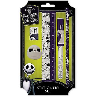 Nightmare Before Christmas Spiral Hill Stationery Set
