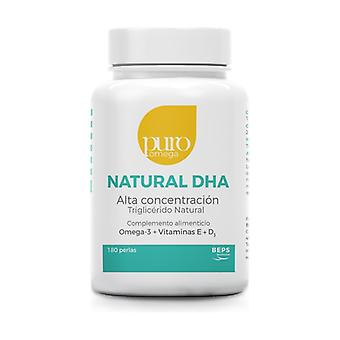Natural DHA High Concentration 180 softgels