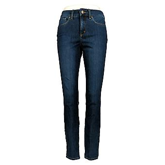 NYDJ Women's Jeans Ami Skinny Button Fly Jeggings Lombard Blue A368740