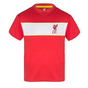 ליברפול FC בנים חולצת טריקו פולי ערכת אימון ילדים רשמית מתנה כדורגל