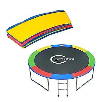 Bord trampoline 244 cm - arc-en-ciel multicolore - 2 cm d'épaisseur
