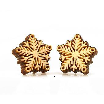Snowflake Stud Earrings #3054
