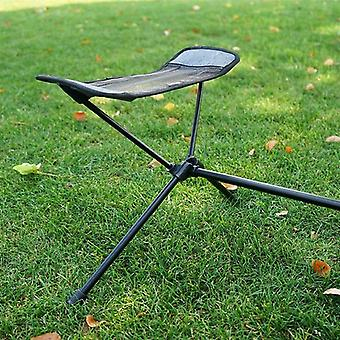 Outdoor Folding Footrest Portable Moon Chair Footstool Lazy Foot Drag