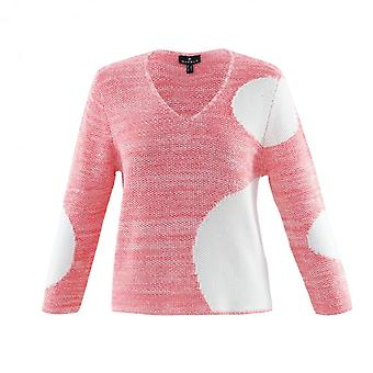 MARBLE Marble Pink Or Blue Sweater 6123