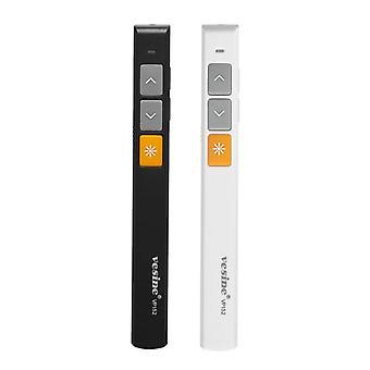 Vesine VP152 wiederaufladbare Wireless Presenter Laser Flip Pen PPT Laser Page Pen Clicker Präsentation