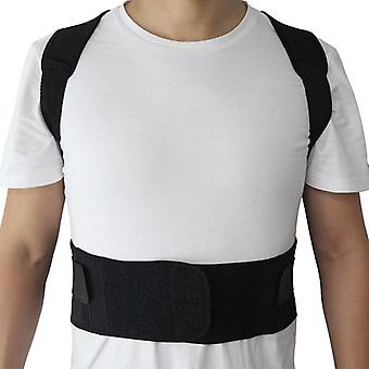 Adjustable Magnetic Posture Corrector Corset Back Brace / Belt Lumbar Support