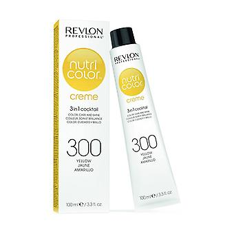 Nutri color creme 3-in-1 color mask # 300 yellow 100 ml of cream of 100ml