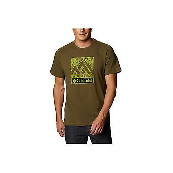 Columbia Rapid Ridge Grafisk Tee 1888813327 universell hele året menn t-skjorte