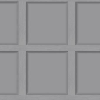 Modern Wood Panel Wallpaper Grey Holden 12981