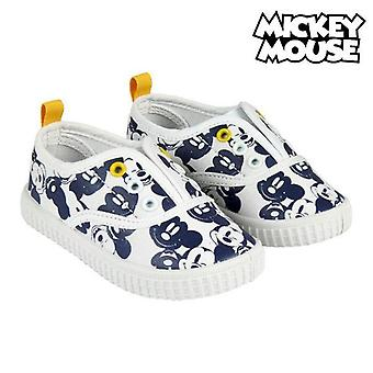 Children's casual trainers mickey mouse 73549 white blue