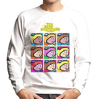 The Magic Roundabout Florence Pop Art Men's Sweatshirt