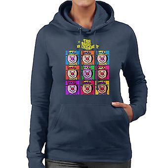 The Magic Roundabout Brian Pop Art Women's Hooded Sweatshirt