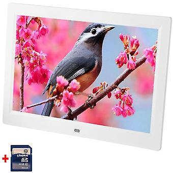 Full Hd Digital Picture Frame With Remote Control Mp4 Player Movies/mp3 Video