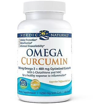 Nordic Naturals Curcumin Omega 3 1000 mg 60 Softgels